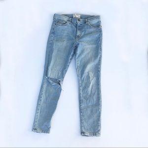 Current/Elliott Jeans - Current/Elliot High Waist Stiletto Jeans